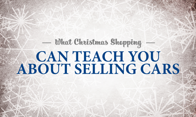 What Christmas Shopping Can Teach You About Selling Cars