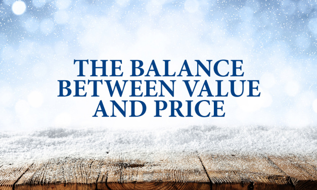 The Balance Between Value And Price