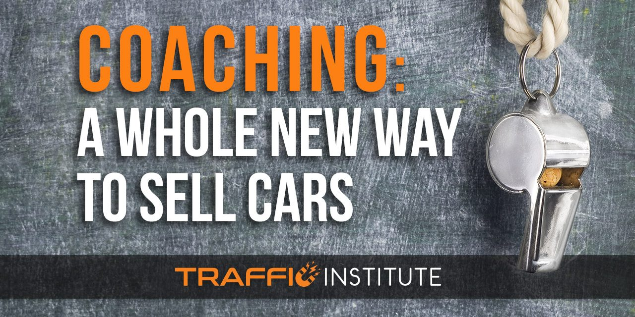 COACHING: A Whole New Way To Sell Cars