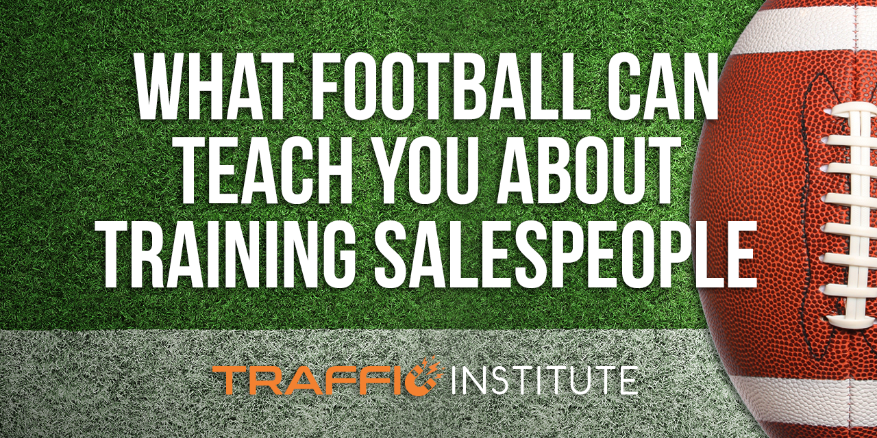 What Football Can Teach You About Training Salespeople